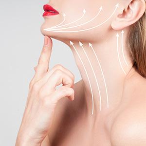 טיפול להצערת עור הצוואר